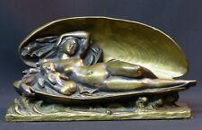 1840 superbe sculpture statuette bronze James Pradier naissance de l'amour 22cm