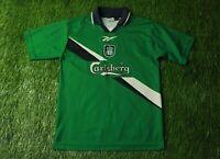 LIVERPOOL ENGLAND 1999/2000 FOOTBALL SHIRT JERSEY AWAY REEBOK ORIGINAL YOUNG L