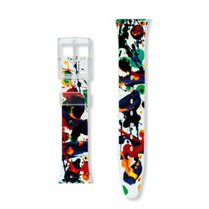 *BRAND NEW* Swatch SAM FRANCIS GZ123 Special Edition STRAP ONLY *VINTAGE RARE*