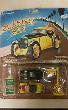 Vintage Toy Car Set! Classic Car! Unique old hard to find collectable Items!