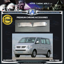 FITS TO VOLKSWAGEN T5 CHROME BUMPER CORNER COVER 5y GUARANTEE 2010-2015 OFFER