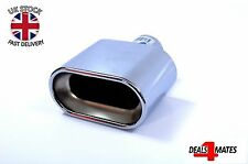 UNIVERSAL CHROME SPORT EXHAUST PIPE TAIL TRIM MUFFLER TIP 366A