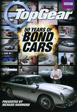 Top Gear 50 Years Of Bond Cars (DVD) Brand New Sealed