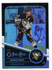 11-12 OPC O-Pee-Chee Rainbow Black Brooks Orpik #323 069/100 Mint