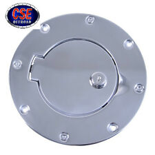 Gas Hatch Cover Locking for Jeep Wrangler TJ 1997-2006 Stainless Rugged Ridge