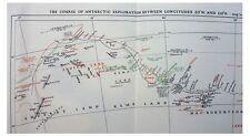1939 Christensen - ANTARCTIC EXPLORATION - LARGE COLOR MAP - 9