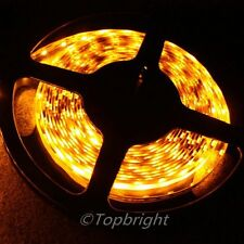 3X 5m 500cm ORANGE SMD 3528 Flexible 300 LED Strip