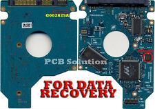 Toshiba MK2576GSX HDD2J95 D G002825A 250GB Donor PCB + Firmware Transfer