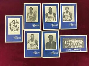1981-82 Georgetown 20 Card Police Set Patrick Ewing RC RARE Sleepy Floyd ~SC2