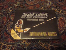 STAR TREK THE NEXT GENERATION ROLEPLAYING GAME FEDERATION AWAY TEAM MINIATURES