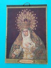 ALMANAQUE 1935 CHOCOLATES VIRGEN DEL ROCIO - HIJOS DE RAFAEL JIMENEZ- SEVILLA