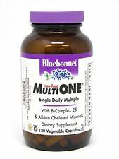 Bluebonnet Nutrition Iron-Free Multi One 120 Veg Cap