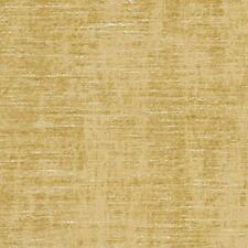 Essentials Chenille Upholstery Drapery Fabric Yellow / Gold