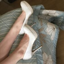 New Look Patternless Satin Slim Heels for Women