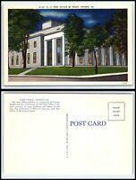 GEORGIA Postcard - Athens, Post Office At Night L29