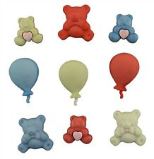 TEDDIES - Buttons Galore 'Childhood' Craft Buttons # 4080