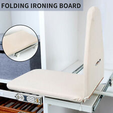 Pull Out Folding Ironing Board Plate Drawer Mounted Car Carbinet Laundry Cover ❤
