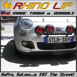 FIAT Palio 500 500e 500L Giardiniera Albea Rubber Chin Spoiler Splitter RhinoLip