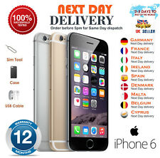 Apple iPhone 6 16GB 64GB 128GB Grey Silver Gold Unlocked Smartphone 12M Warranty