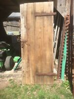 Vintage Primitive Rustic Barn Door Table top Wedding Decor