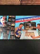 1987 NBA The VCR Basketball Board Game 95% Complete