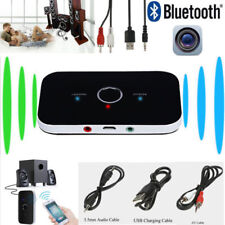 2in1 Wireless Bluetooth Transmitter Stereo AudioEmpfänger Sender Adapter AUX USB