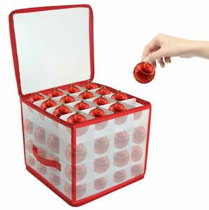 64 Baubles Christmas Box For Set Box Santaelf Non-Woven Decoration Storage Xmas