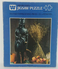 "Golden Deluxe Guild 500 piece Jigsaw puzzle ""Harvest King""--New/ealed! B4615-236"