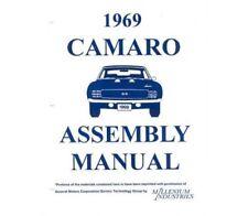 1969 Camaro Assembly Manual 69