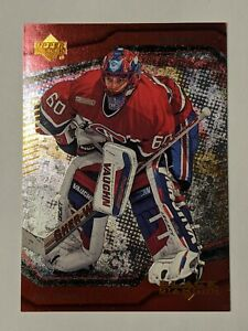 2000-01 Upper Deck Black Diamond #30 Jose Theodore Montreal Canadiens Card