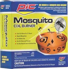 NEW PIC COMBO MOSQUITO TERRA COTTA COIL BURNER & 4 COILS REPELLENT SALE 6401129