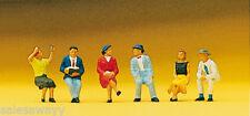 Preiser 10021 Sitzende Personen, H0