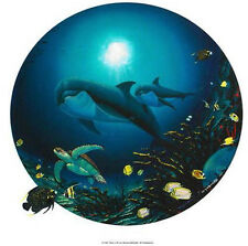 "WYLAND ""UNDERSEA LIFE"" S/N GICLEE ON CANVAS WITH COA"