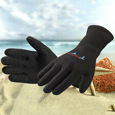 3mm Neoprene Wetsuit Gloves Kayak Diving Swimming Surfing Gloves Adult Size M