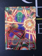 Kami's Power Piccolo - Dragon Ball Super Card NM/M BT4-049 SR