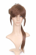 Brown Anime Costume Cosplay Wig with Long Pony Tail