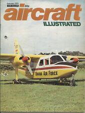 Aircraft Illustrated Magazine - February 1974