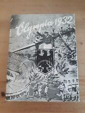 Olympia 1932 Reemtsma Cigarettenbilder Sammelalbum Bilderdienst TOP
