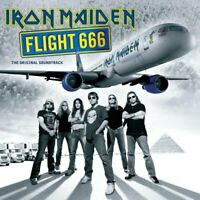 "IRON MAIDEN ""FLIGHT 666 ORIGINAL SOUNDTRACK"" 2 LP  LIMITED EDITION PICTURE VINYL"