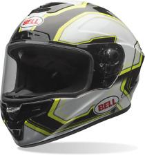 BELL STAR PACE BLACK/WHITE MOTORCYCLE HELMET - MEDIUM + DARK VISOR