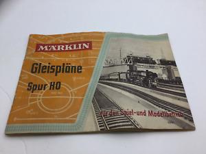 Marklin HO Gauge Track Plans Book