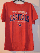 Washington Capitals Filmore Tee - Men Small NEW Old Time Hockey NHL New!
