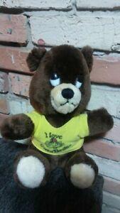 Dakin and co 1976 i love casa bonita 11 inch bear