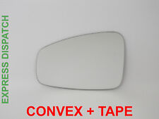 Wing Door Mirror Glass For RENAULT MEGANE 2008-2015 Convex left side  #H031