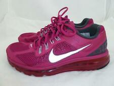 NIKE USED 9 AIRMAX HOT PINK FUCHSIA MESH SNEAKERS/RUNNING SHOES 555363 2014