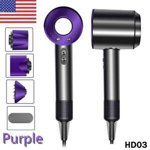 Dyson Hd03 Supersonic Hair Dryer Nickel/Purple
