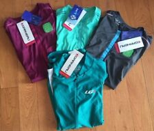 Lot of 4 Louis Garneau Women's Cycling Jerseys (Lucy, Breeze) - XL - $200 Retail