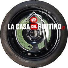 """RUOTINO DI SCORTA  JEEP COMPASS 17"""" ORIGINALE JEEP + CHIAVE SVITA BULLONI"""