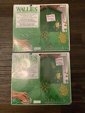 Wallies Wet & Stick Removable Vinyl Wallpaper Cutouts - KP Kids Frogs