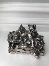 Arthur Court Jaguar Silver Plate Box